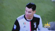Ronaldo'nun Sarri'ye küfrettiği anlar