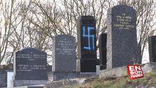 Fransa'da bir yahudi mezarlığında en az 80 mezar harap oldu