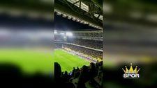 Fenerbahçe taraftarı teşrik tekbiri getirdi