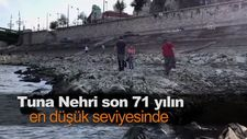 Tuna Nehri son 71 yılın en düşük seviyesinde