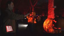 Bal kabaklarından sanat eseri yaptılar