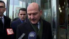 Bakan Soylu Emniyet Müdürünün vurulmasına ilişkin konuştu