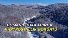 Domaniç Dağlarında kartpostallık görüntü