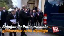 Erdoğan ile Putin arasında gülümseten zırhlı diyaloğu