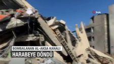 Bombalanan 'Al-Aksa' kanalı bu hale geldi