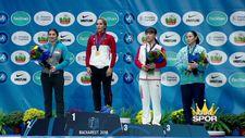 Dünya Şampiyonumuz Buse Tosun Altın madalyasını aldı