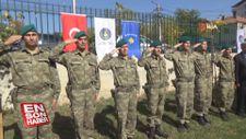 Kosova'daki Mehmetçik'ten Suriye'deki Mehmetçik'e selam