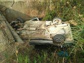 Mersin'de araç su kanalına düştü: 1 ölü