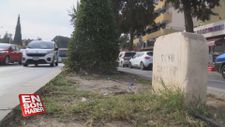 Muğla'da 'refüjdeki mezar taşı' tepkisi