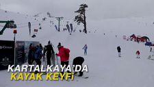 Kartalkaya'da kayak keyfi