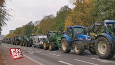 Alman çiftçiler tarım politikasını protesto etti