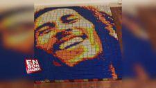 Rubik küpüyle ünlü isimlerin portrelerini yapan adam: Giovanni Contardi
