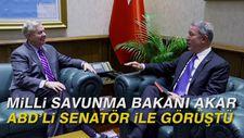 Milli Savunma Bakanı Akar, ABD'li Senatör Graham ile görüştü