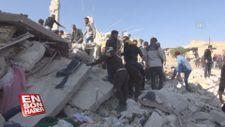 Rus savaş uçakları İdlib'in kuzeyini bombaladı