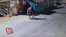 Annesinden şiddet gören minik kız