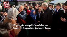 Mevlüt Uysal'a CHP'li Büyükçekmece Belediyesi hakkında sitem
