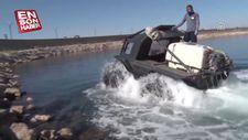 Van'da amfibik araçlarla vektörel ilaçlama