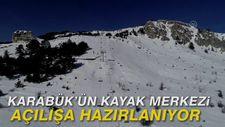 Karabük'ün kayak merkezi açılışa hazırlanıyor