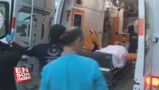 Konya'da balkondan düşen Suriyeli çocuk ağır yaralandı