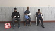 Kaçak göçmenler Yunan askerlerince darbedilip Türkiye'ye gönderildi