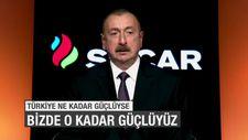 İlham Aliyev SOCAR açılışı için İzmir'de