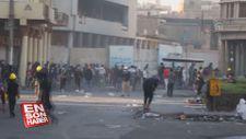Bağdat'ta güvenlik güçlerinden göstericilere müdahale: 3 ölü, 35 yaralı