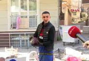 19 yaşındaki pazarcı: Genç adamı evde tutamazsın