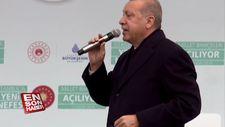 Başkan Erdoğan'dan Gezicilere: Millet bahçelerine bakın
