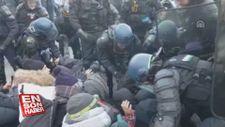 İspanyol ve Fransız polisinden eylemci Katalanlara ortak operasyon