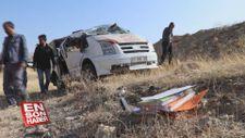Diyarbakır'da öğrenci servisi şarampole devrildi