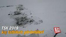 TSK 2019 kış tatbikatı görüntüleri