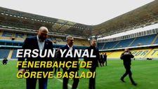 Ersun Yanal, Fenerbahçe'de göreve başladı
