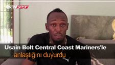 Usain Bolt Central Coast Mariners'le anlaştığını duyurdu