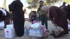 Türkiye, Barış Pınarı Harekatı bölgesindeki sivillere yardıma koştu