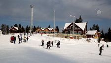 Atabarı Kayak Merkezi'nde yarıyıl tatili yoğunluğu