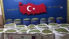 Diyarbakır'daki 1351 kilogram esrar ele geçirildi