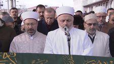 Erdoğan Ahmet Vanlıoğlu'nun cenaze törenine katıldı