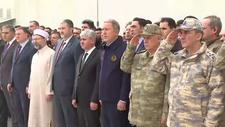 Şehit olan askerlerimiz için tören düzenlendi