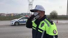 Sürücüler şehir dışına çıkmamaları konusunda uyarıldı