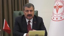 Bakan Koca, DSÖ Avrupa Bölge Direktörü Kluge ile görüştü