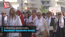 Srebrenitsa annelerinden, Diyarbakır annelerine destek