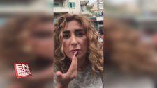 Botox yaptıramadığı için protestolara katılan kadın