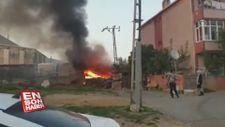 Pendik'te bir kablo fabrikasının yanında yangın çıktı