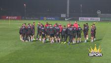 A Milli Futbol Takımı, İzlanda maçı hazırlıklarını tamamladı
