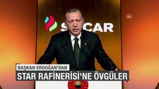Başkan Erdoğan'dan SOCAR Star Rafinerisi'ne övgüler