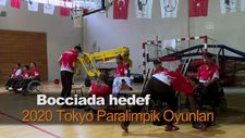Bocciada hedef 2020 Tokyo Paralimpik Oyunları