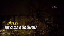 Bitlis beyaza büründü