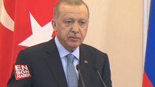 Erdoğan: Tarihi bir mutabakata imza attık