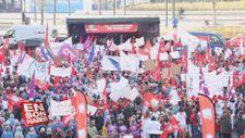 Hollanda'da hastane çalışanları greve gitti
