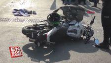 Şişli'de minibüsle çarpışan motosikletli hayatını kaybetti